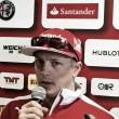 "Kimi Raikkonen: ""Sufrimos para poder hacer una vuelta decente"""