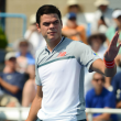 ATP Cincinnati: Milos Raonic races through opener