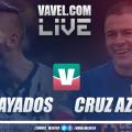 Resultado y goles Rayados Monterrey 1-1 Cruz Azul en Ida Semifinal 2018