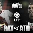 Rayo Vallecano - Athletic: todo listo, despegue