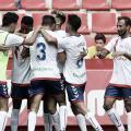 Jugadores del Rayo Majadahonda celebrando un gol / Foto: Laliga123
