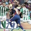 El tercer tiempo: el Barça aplasta a un Betis en construcción