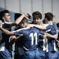 Los jugadores del filial periquito celebran un gol durante esta temporada // Foto: Noelia Déniz (VAVEL).