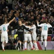 La joie des madrilènes et le désarroi de Verrati après le but de Marcelo @YahooSport