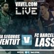 Divina Seguros Joventut - Barça Lassa en vivo y en directo online en ACB 2017-18 (72-74)