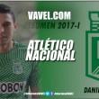 Resumen 2017-I Atlético Nacional: Daniel Bocanegra, corazón y actitud