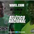 Resumen Atlético Nacional 2017-II: Carlos Cuesta, corazón y sacrificio