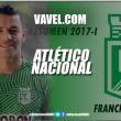 Resumen 2017-I Atlético Nacional: Francisco Nájera, vital en las finales