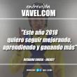"""Entrevista. Ricardo Sousa: """"Este año 2018 quiero seguir mejorando, aprendiendo y ganando más"""""""