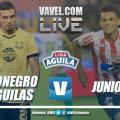 Resumen Rionegro Águilas vs Junior por semifinales de la Liga Águila 2018-II (2-3)