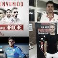 Hauche, Meli, Viola y Gil Romero, algunos de los refuerzos de los adversarios de los promedios (Fotomontaje)