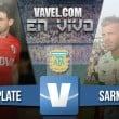 River Plate vs Sarmiento en vivo y en directo online (1-1)