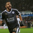 Champions League - Leicester - Copenaghen, Mahrez trascina Ranieri