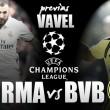Real Madrid e Dortmund se enfrentam no Bernabéu visando liderança do Grupo F da UCL