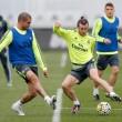 Último entrenamiento del Madrid sin Cristiano, Benzema ni Arbeloa