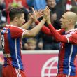 Bayern Munich 4-0 Hannover: Braces from Robben and Lewandowski Push Aside the Visitors