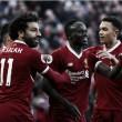 Com gols de seu trio ofensivo, Liverpool goleia West Ham e assume vice-liderança