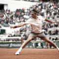 Roger Federer durante Roland Garros 2019. Fuente: Zimbio