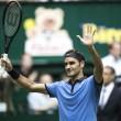 Federer carbura en Halle