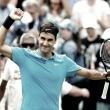 Federer sufrió ante Paire, pero avanzó a los cuartos de final