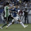 Substituído na etapa inicial contra Coritiba, Romero sofre pancada no joelho e espera por exames