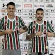 Robinho e Richard são apresentados no Fluminense e afirmam viver um sonho