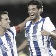 """Carlos Vela e Iñigo Martínez: """"La fe e intensidad del equipo fueron claves para la victoria"""""""