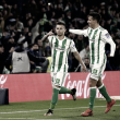 El Real Betis sigue en racha