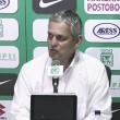 """Reinaldo Rueda: """"Con Millonarios fue un juego intenso y fuimos contundentes"""""""