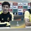 """Marcelino: """"Es muy difícil jugar contra cualquier rival y necesitamos a la afición"""""""