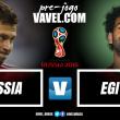 Com moral nas alturas, Rússia enfrenta Egito na provável estreia de Salah na Copa