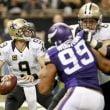 Saints se aprovechó de las ausencias de Peterson y Cassel para ganarle a Vikings