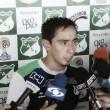 """Fabián Sambueza: """"Me quiero quedar, la ciudad me gusta y estoy cómodo en el equipo"""""""
