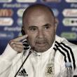 """Jorge Sampaoli: """"Este partido merecía un plan inicial diferente al del primero"""""""
