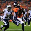 Emmanuel Sanders Catches Career-High Three TD's In Broncos' 35-21 Win Over Chargers