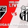 Jogo São Paulo x Santos ao vivo online pelo Campeonato Brasileiro 2018 (0-0)