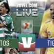Santos vs Tigres en vivo online en Liga MX 2018 (3-1)