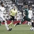 Los protagonistas del Real Betis comparecen tras la victoria