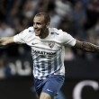 Sandro, la esperanza ofensiva del Málaga CF