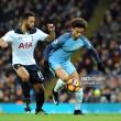 Manchester City vs Tottenham Hotspur Live Score Commentary in Premier League 2017