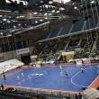 Santiago Futsal piensa en la Copa Xunta tras la derrota ante Ribera Navarra