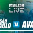 Resultado São Paulo x Avaí (2-0)