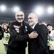 """Post Napoli-Empoli, parla Sarri: """"Buona gara stasera, Insigne deve stare tranquillo"""""""
