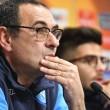 """Napoli, Sarri ci prova: """"Riscattiamo l'andata e facciamo risultato, il resto è una conseguenza"""""""