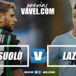 Previa Sassuolo - Lazio: duelo de objetivos contrapuestos