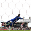"Mark Hughes hails ""top-class"" Stoke goalkeeper Jack Butland after stand-out display in West Ham draw"