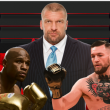 Conor McGregor and Floyd Mayweather invited to WWE RAW by Triple H
