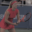 WTA Cincinnati: Elina Svitolina overcomes sloppy performance to move past countrywoman