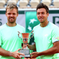 French Open: Krawietz and Mies pull off huge doubles final upset