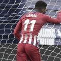 Lemar marca no fim e Atlético de Madrid vence Eibar pelo Campeonato Espanhol